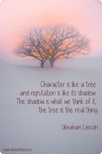 moral stories about character