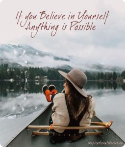 short moral story about believing in yourself