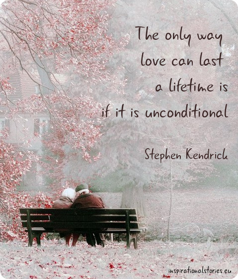 stories about unconditional love